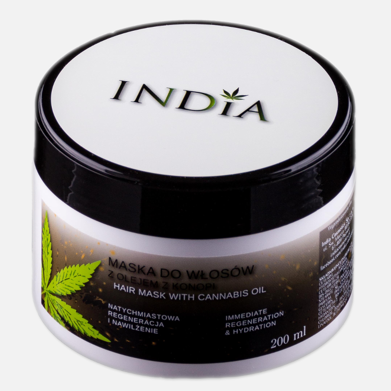 Maska do włosów INDIA 200 ml