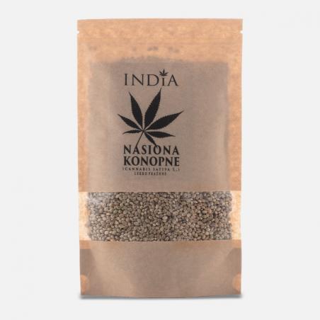 Nasiona konopne lekko prażone IDNDIA 250 g (do wyczerpania zapasów)