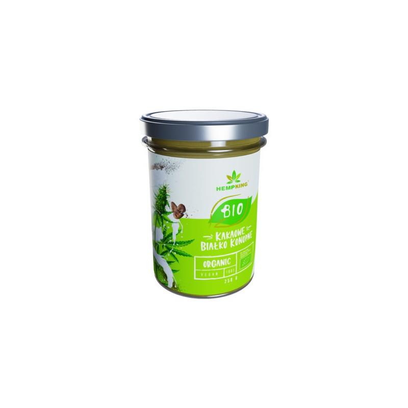 BIO białko konopne kakaowe Hemp King 250 g