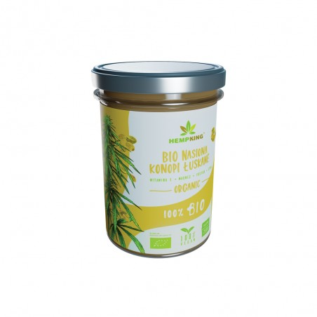 Bio nasiona konopi łuskane Hemp King - 250 g