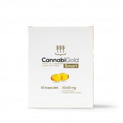 CannabiGold Smart – opakowanie 10 kapsułek