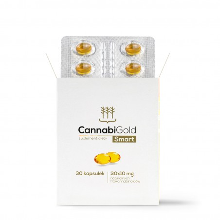 CannabiGold Smart – opakowanie 30 kapsułek