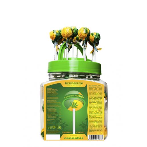 Lizak Konopny - Energy 12 g