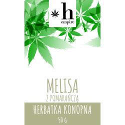 Herbatka Konopna Melisa z Pomarańczą 50g