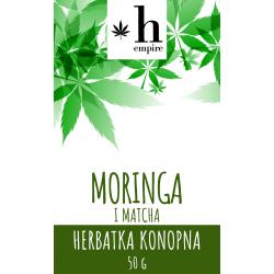 Herbatka Konopna Moringa i Matcha 50g